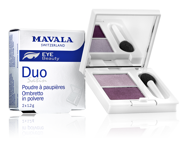Satin Eye shadow powder Duo